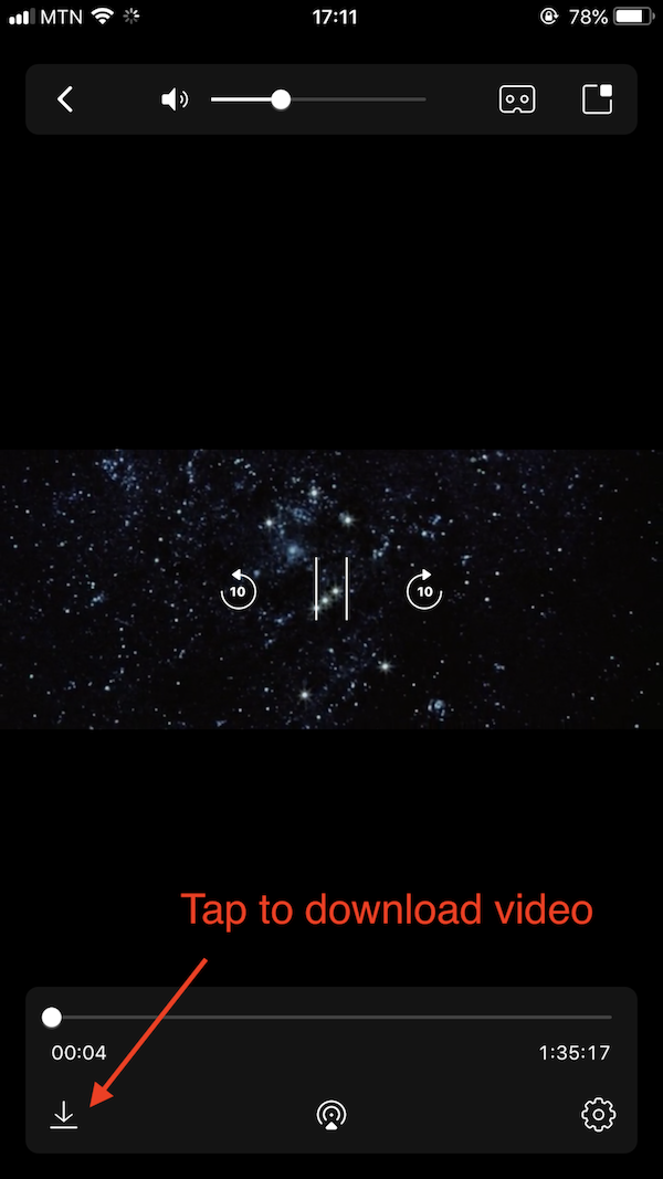 How to download a video? | iPhone Version
