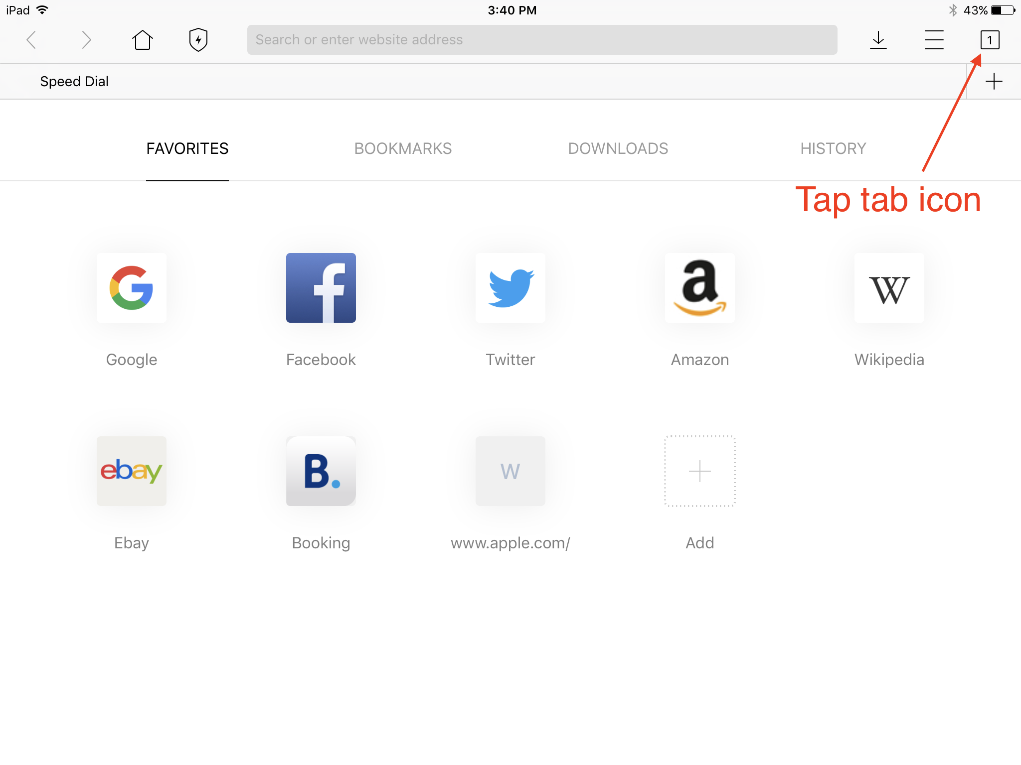 Where Do I find 'Private' mode? | iPad Version