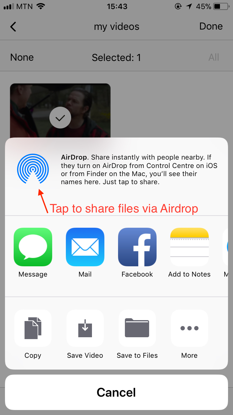 How to transfer files to my computer?   iPhone Version
